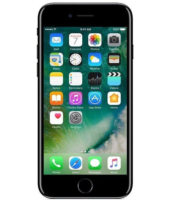 iPhone 7 Plus Jet Black 128GB Novo, Desbloqueado com 1 Ano de Garantia - 8H885B2U6