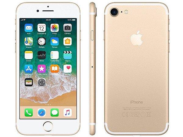 iPhone 7 Dourado 128GB Novo, Desbloqueado com 1 Ano de Garantia - BZ984TELP