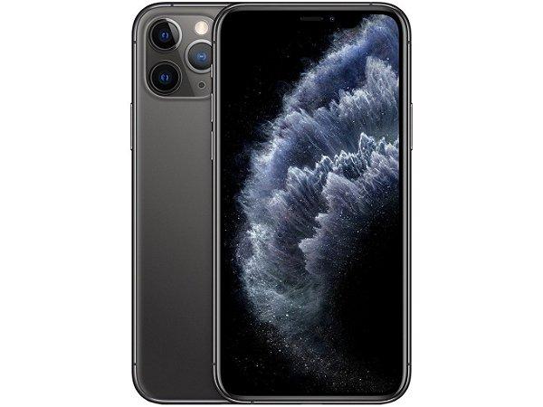 iPhone 11 Pro Cinza Espacial 256GB Novo, Desbloqueado com 1 Ano de Garantia - QD2AF25UH