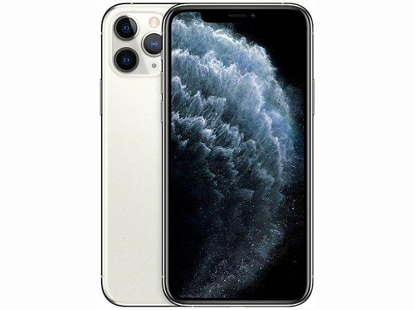 iPhone 11 Pro MAX Prata 512GB Novo, Desbloqueado com 1 Ano de Garantia - YH2R3WV8T