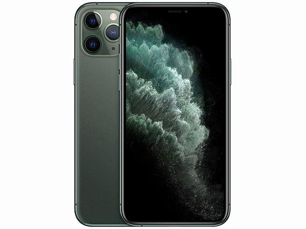 iPhone 11 Pro MAX Verde meia-noite 256GB Novo, Desbloqueado com 1 Ano de Garantia - RXURBHCPE