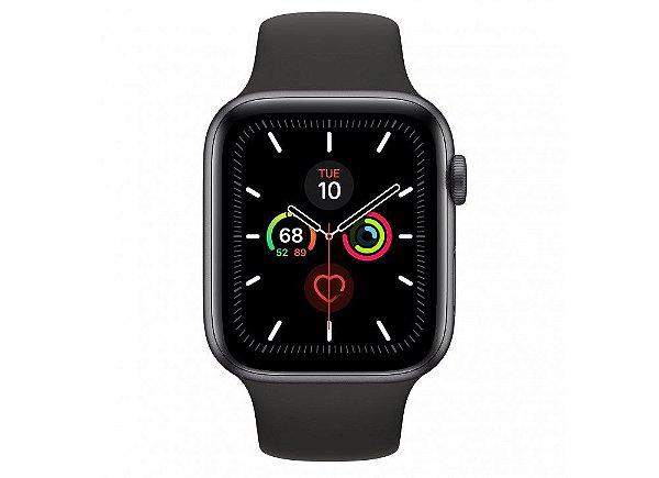 Apple Watch Serie 4 Novo, 40/44 mm Prata, Dourado, Cinza Espacial: Modelo GPS - RABRHX35U