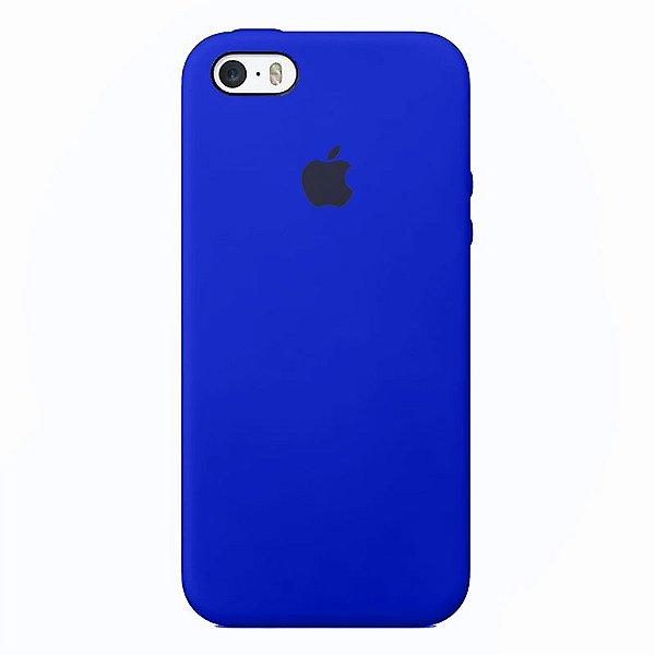 Case Capinha Azul Bic para iPhone 5/5s/5c e SE 1 GERAÇÃO de Silicone - OTHTE8PA7