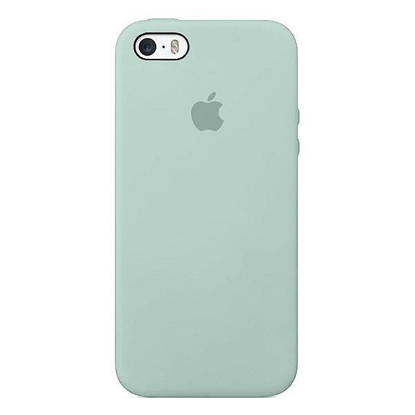 Case Capinha Azul Céu para iPhone 5/5s/5c e SE 1 GERAÇÃO de Silicone - 1VRZIN3B3