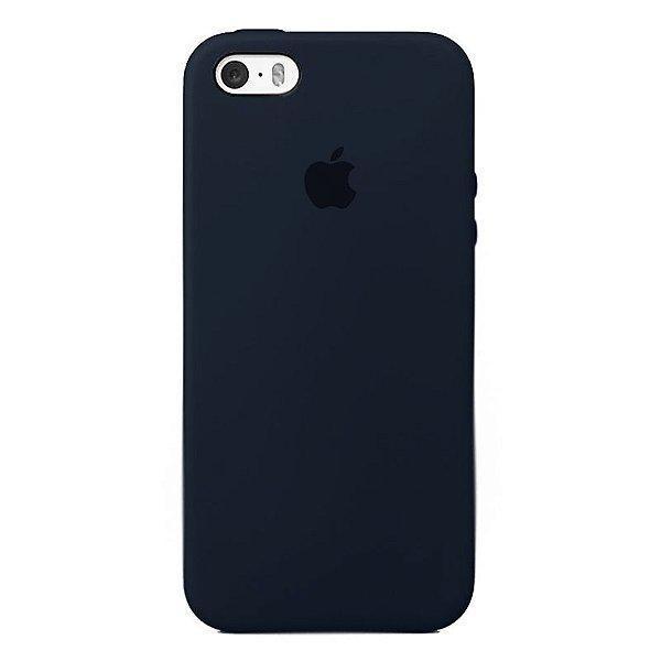 Case Capinha Azul Cobalto para iPhone 5/5s/5c e SE 1 GERAÇÃO de Silicone - 7OURPV6C9