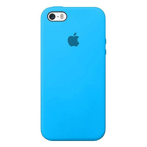 Case Capinha Azul Piscina para iPhone 5/5s/5c e SE 1 GERAÇÃO de Silicone - 2GSCA56T6
