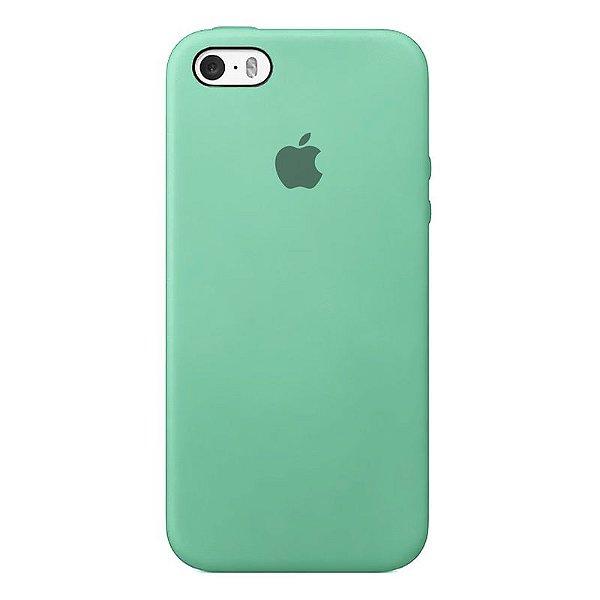 Case Capinha Azul Tiffany para iPhone 5/5s/5c e SE 1 GERAÇÃO de Silicone - 60HM9N4T2