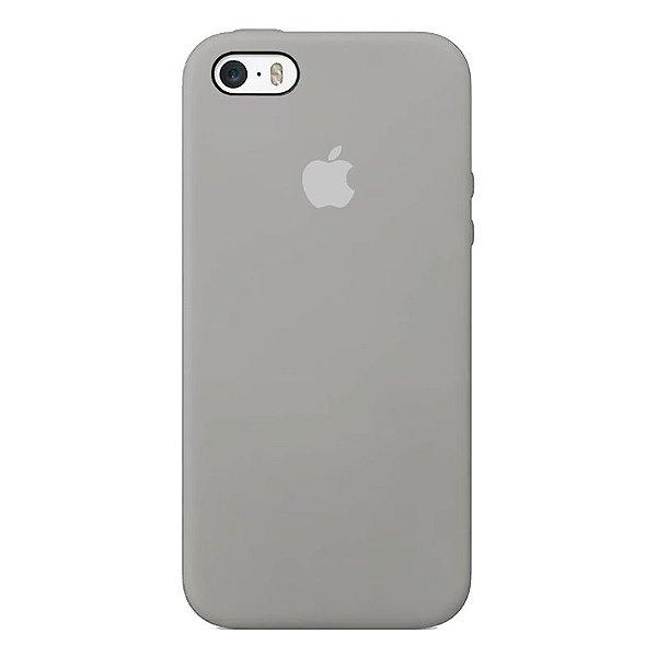Case Capinha Cinza para iPhone 5/5s/5c e SE 1 GERAÇÃO de Silicone - KVP4CCIMZ