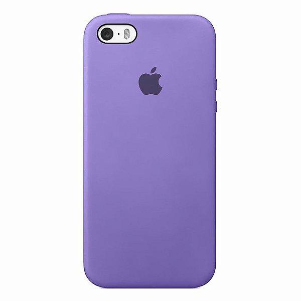 Case Capinha Lilás para iPhone 5/5s/5c e SE 1 GERAÇÃO de Silicone - 3U5GWAPHP