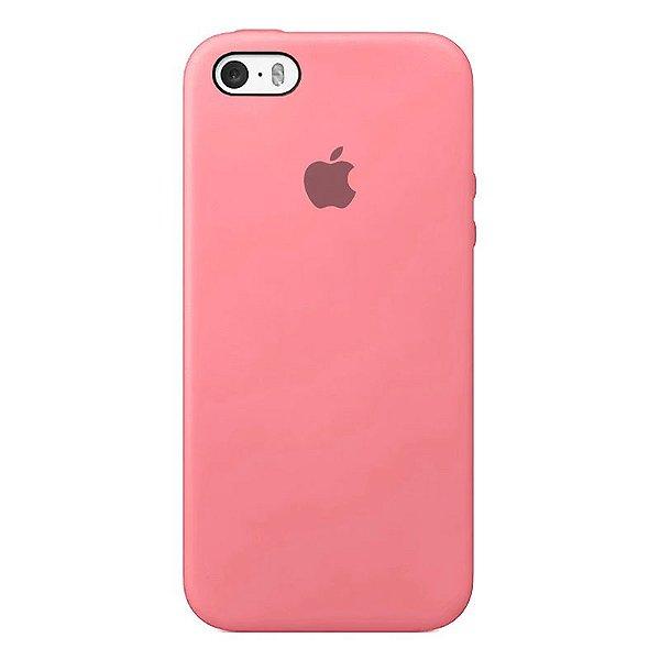 Case Capinha Rosa Chiclete para iPhone 5/5s/5c e SE 1 GERAÇÃO de Silicone - M8TQWMNUB