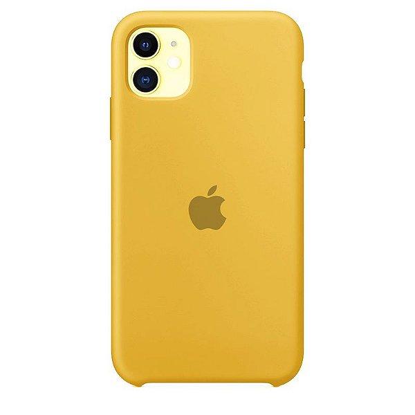 Case Capinha Amarela para iPhone 11 de Silicone - A2Q7BKNKB