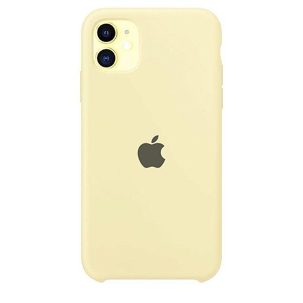 Case Capinha Amarelo Claro para iPhone 11 de Silicone - 5URVK6WTB