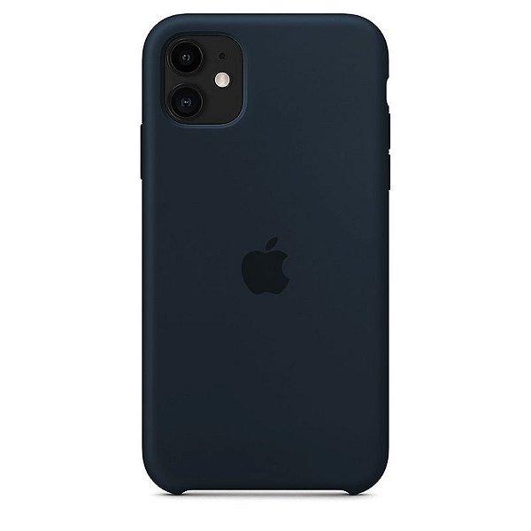 Case Capinha Azul Cobalto para iPhone 11 de Silicone - FDE3BQXJ6