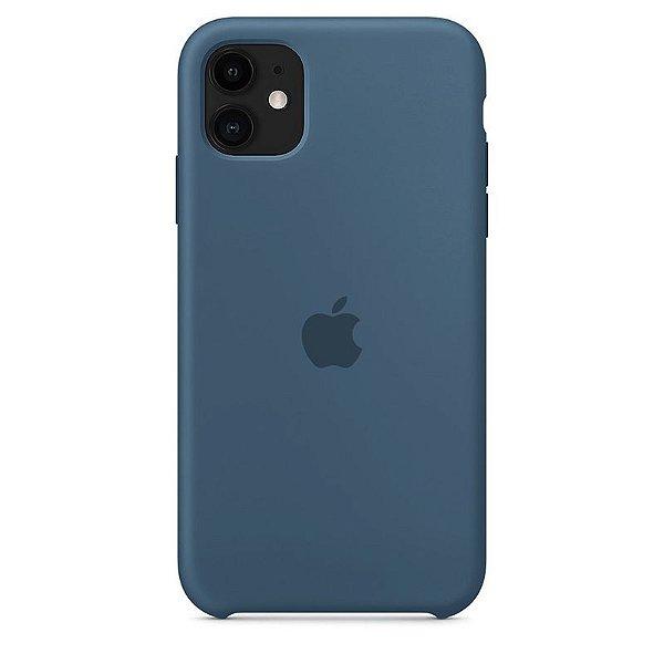 Case Capinha Azul Holandês para iPhone 11 de Silicone - R29DEPOF5