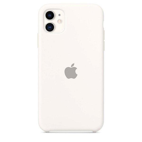 Case Capinha Branco para iPhone 11 de Silicone - DJ5730300