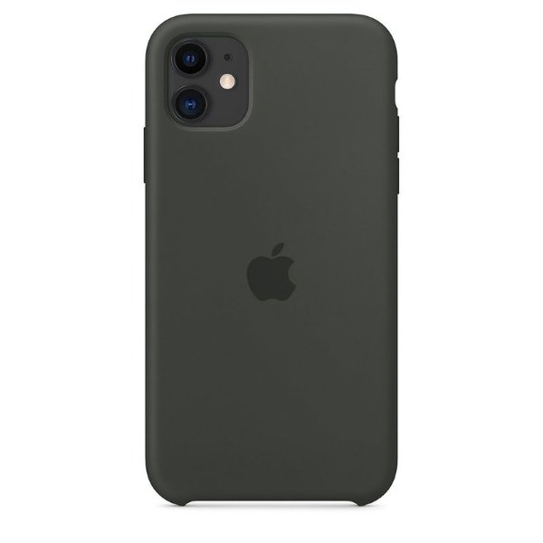 Case Capinha Cinza Escuro para iPhone 11 de Silicone - 1UY6DBFBT