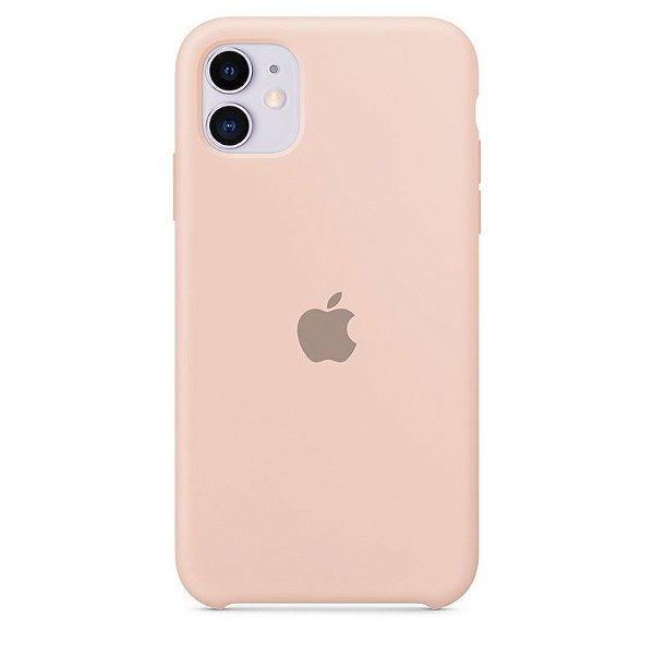 Case Capinha Rosa Areia para iPhone 11 de Silicone - LLIOWHVHQ