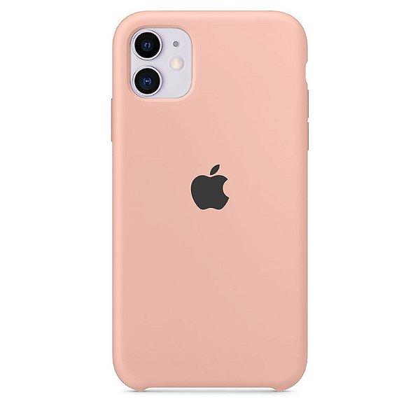 Case Capinha Rosa Creme para iPhone 11 de Silicone - WFBJVAFOZ