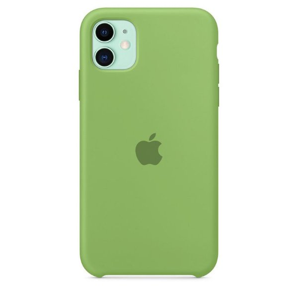 Case Capinha Verde Menta para iPhone 11 de Silicone - VQGLMSIYF