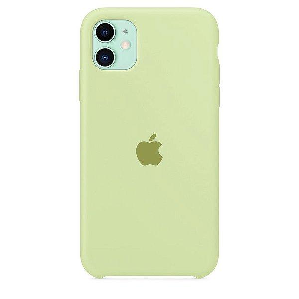 Case Capinha Verde Pistache para iPhone 11 de Silicone - SB9JXI38H