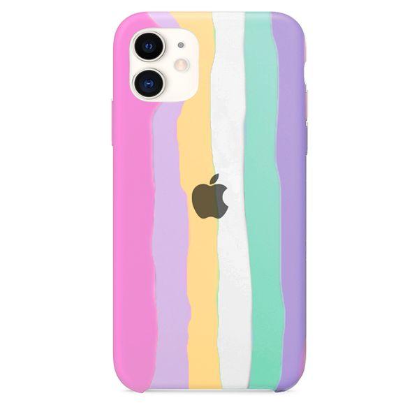 Case Capinha Pride Arco-Íris 2 para iPhone 11 de Silicone - VHTXFLEJ4