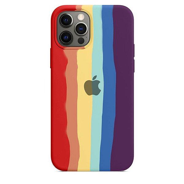 Case Capinha Pride Arco-Íris 2 para iPhone 12 e 12 Pro de Silicone - YG3ZQTG7A