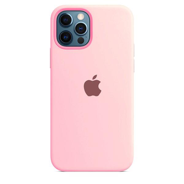 Case Capinha Rosa Claro para iPhone 12 e 12 Pro de Silicone - 2TZ5FQFHV
