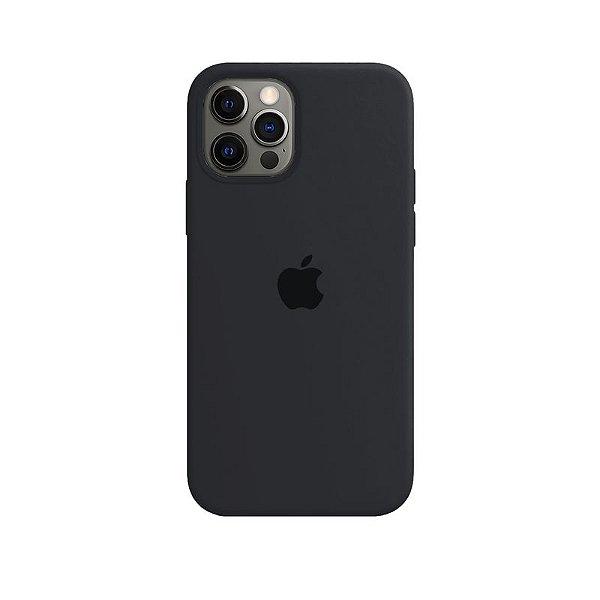 Case Capinha Cinza Dark para iPhone 12 e 12 Pro de Silicone - U966XAIL7