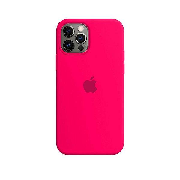 Case Capinha Rosa Pink para iPhone 12 e 12 Pro de Silicone - 0WMH5BHTK