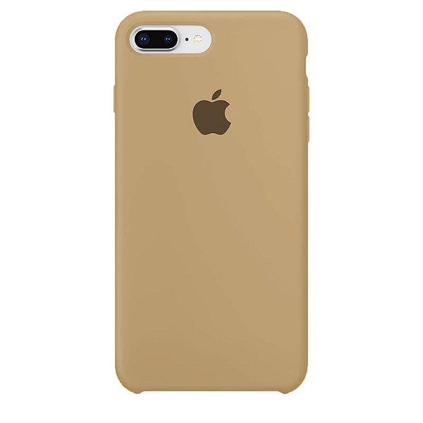 Case Capinha Caramelo para iPhone 7 Plus e 8 Plus de Silicone - HC6B4BWM3