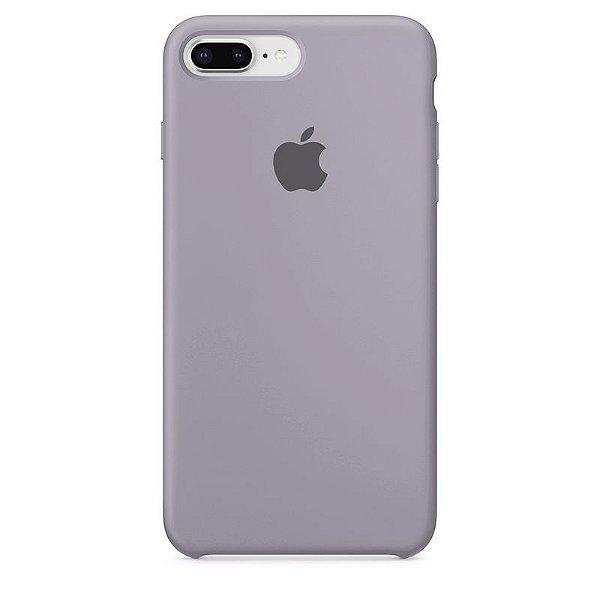 Case Capinha Cinza Concreto para iPhone 7 Plus e 8 Plus de Silicone - HP3ZQ3IBW