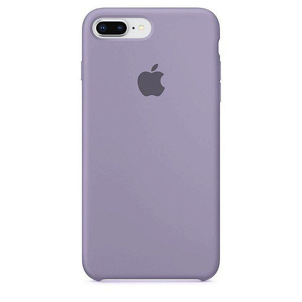 Case Capinha Lilás para iPhone 7 Plus e 8 Plus de Silicone - V9ZVMGVGN