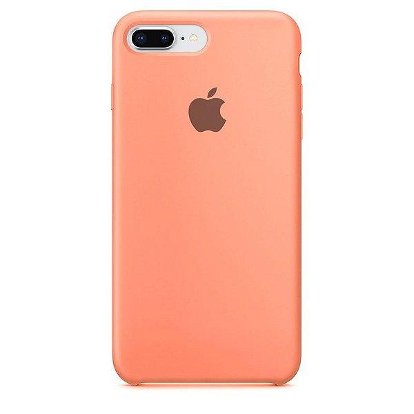 Case Capinha Rosa para iPhone 7 Plus e 8 Plus de Silicone - 8E0H3NVDV
