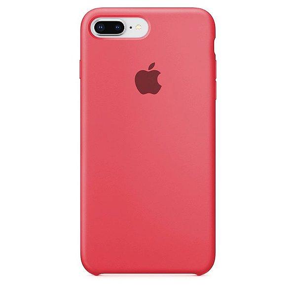 Case Capinha Rosa Neon para iPhone 7 Plus e 8 Plus de Silicone - XWU2A8F1O