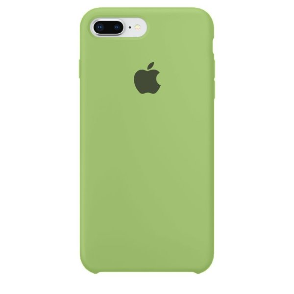Case Capinha Verde para iPhone 7 Plus e 8 Plus de Silicone - CCWN785S3