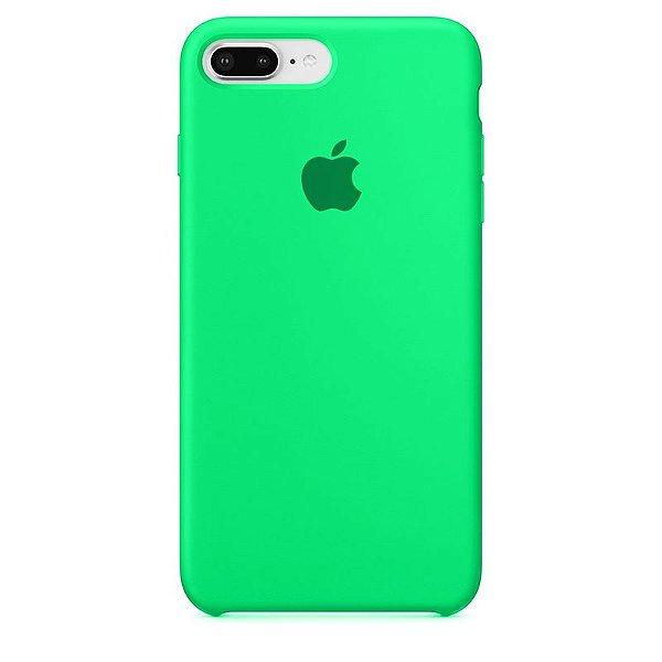 Case Capinha Verde Água para iPhone 7 Plus e 8 Plus de Silicone - 8QMB9UNV5