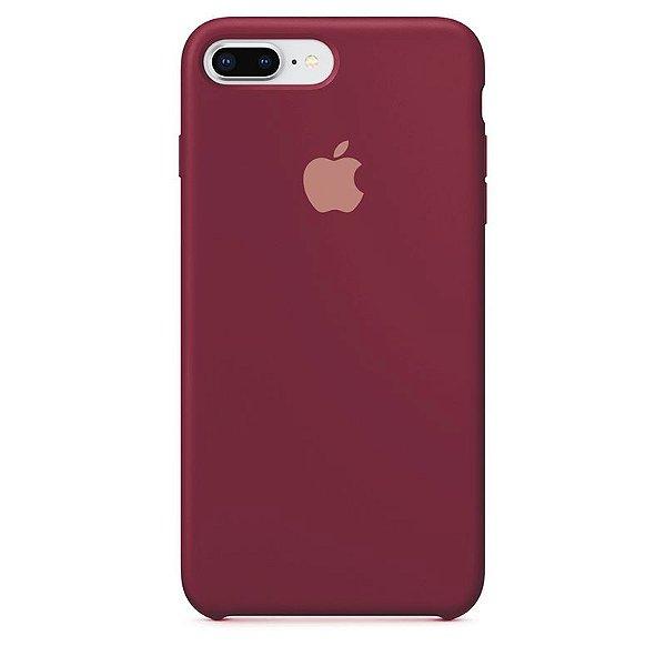 Case Capinha Vermelho Old School para iPhone 7 Plus e 8 Plus de Silicone - RBEHT4QBW