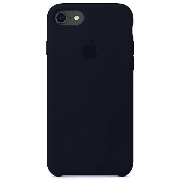 Case Capinha Azul Cobalto para iPhone 7, 8 e SE 2º Geração de Silicone - 0O2RA5T6J
