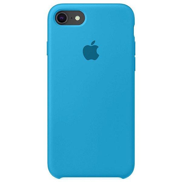 Case Capinha Azul Piscina para iPhone 7, 8 e SE 2º Geração de Silicone - FM4ZBBH0D