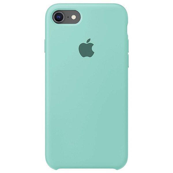 Case Capinha Azul Tiffany para iPhone 7, 8 e SE 2º Geração de Silicone - B79DFGL8B