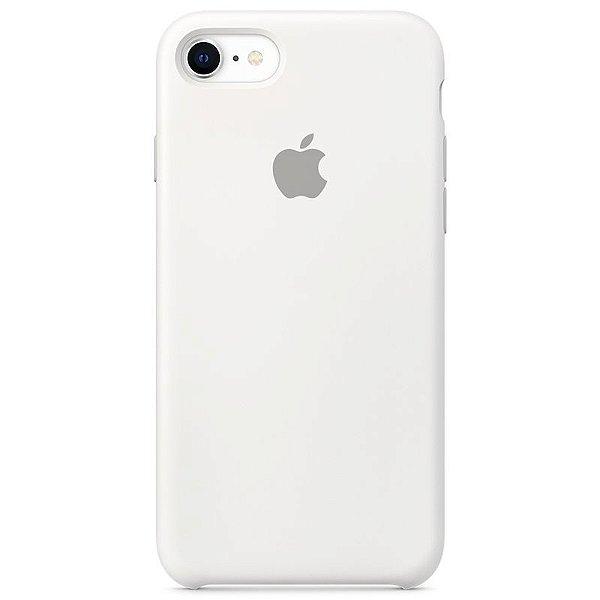 Case Capinha Branca para iPhone 7, 8 e SE 2º Geração de Silicone - NAIU29U9N