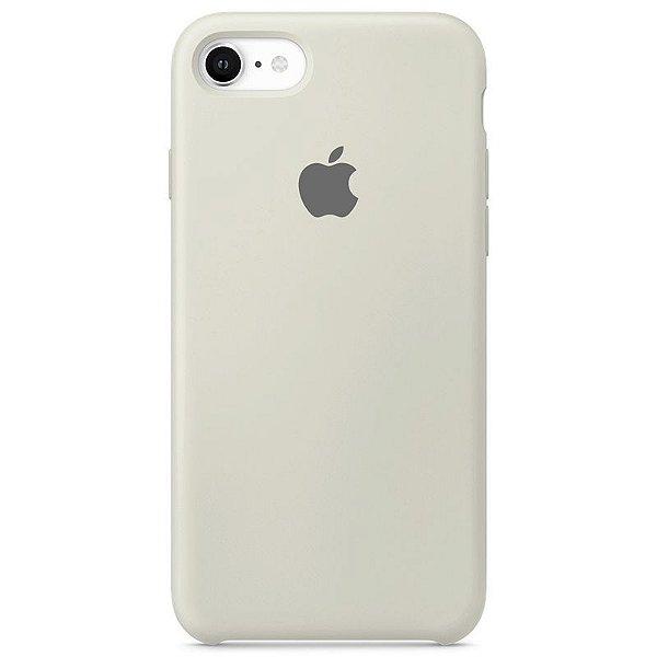 Case Capinha Branco Off-White para iPhone 7, 8 e SE 2º Geração de Silicone - V9QPW2SF3