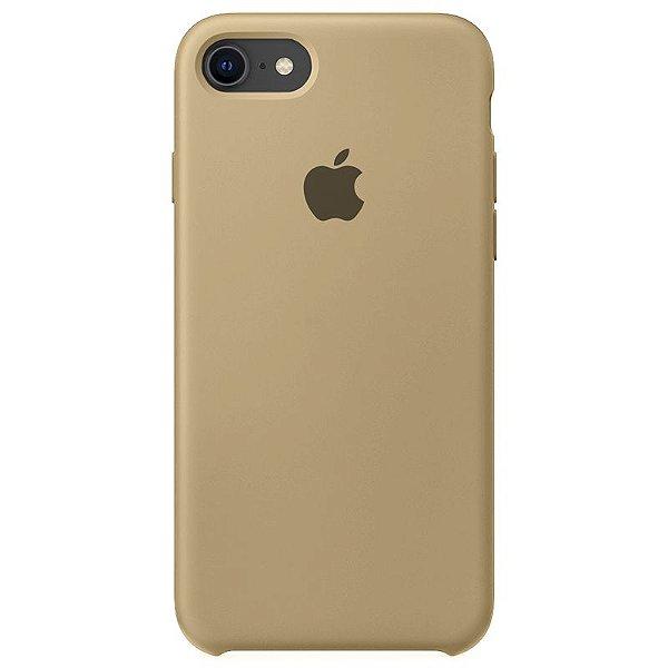 Case Capinha Caramelo para iPhone 7, 8 e SE 2º Geração de Silicone - LZOQOYRVV
