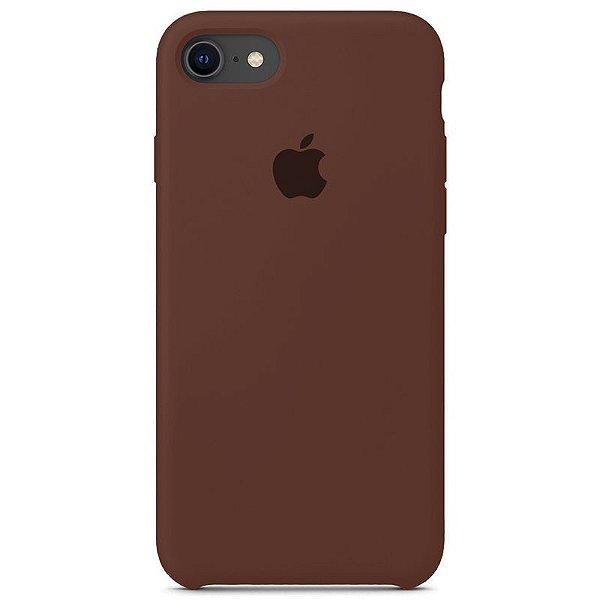 Case Capinha Chocolate para iPhone 7, 8 e SE 2º Geração de Silicone - K1PI004AR