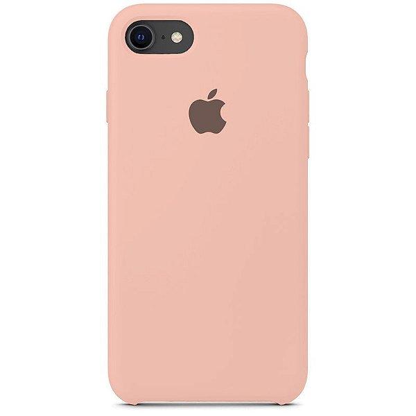 Case Capinha Rosa Creme para iPhone 7, 8 e SE 2º Geração de Silicone - 2ONTIL289