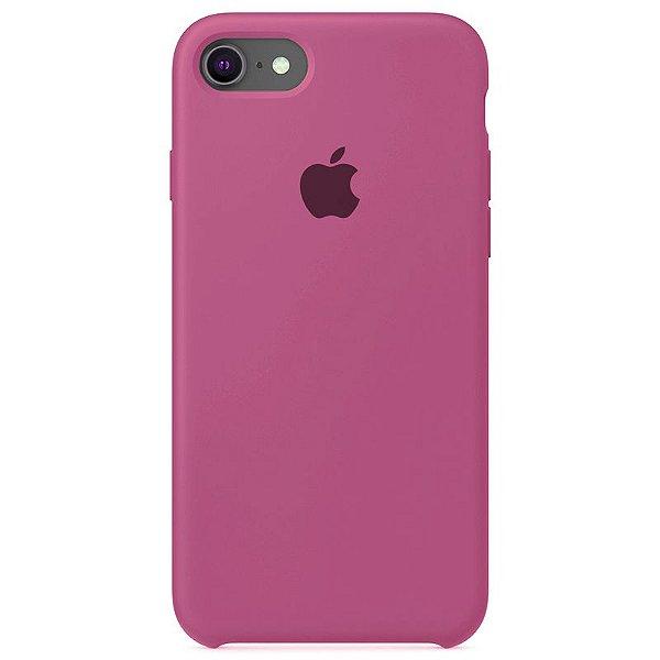Case Capinha Rosa Hibisco para iPhone 7, 8 e SE 2º Geração de Silicone - 2ABMZSPVF