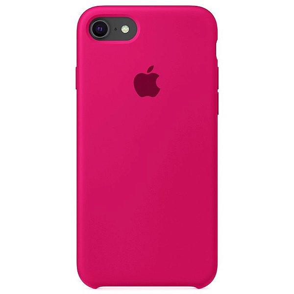 Case Capinha Rosa Pink para iPhone 7, 8 e SE 2º Geração de Silicone - X9T78QM4M