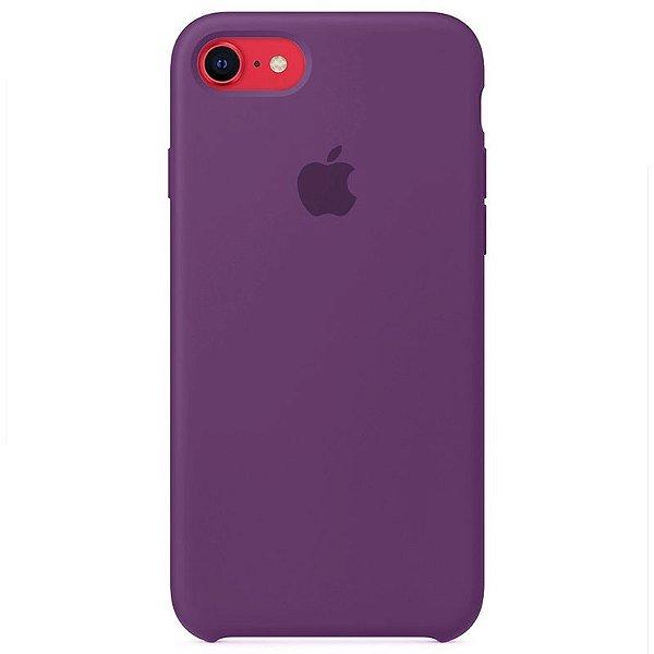 Case Capinha Roxa para iPhone 7, 8 e SE 2º Geração de Silicone - E7Z656HM0