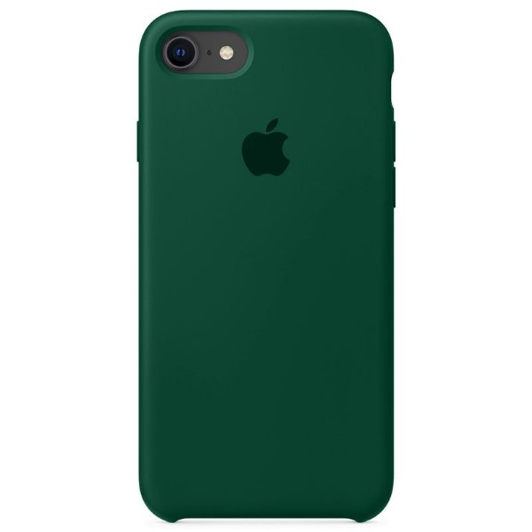Case Capinha Verde Floresta para iPhone 7, 8 e SE 2º Geração de Silicone - WYIOV2NVQ