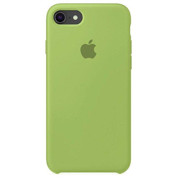 Case Capinha Verde Menta para iPhone 7, 8 e SE 2º Geração de Silicone - Z40GCJJGN